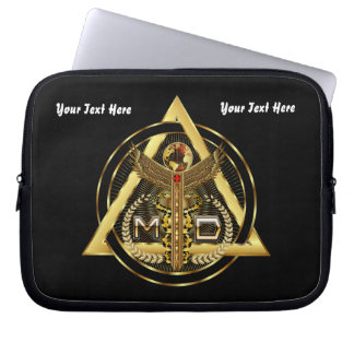 Medical Doctor Device Carry Case VIEW ABOUT design Laptop Sleeves