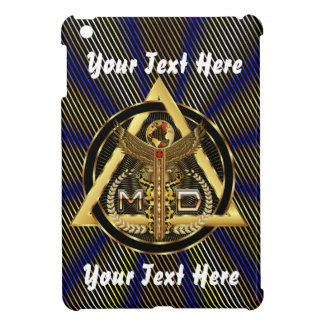 Medical Doctor Logo Round Only VIEW ABOUT Design iPad Mini Case