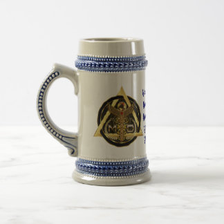 Medical Doctor Logo Universal VIEW ABOUT Design Beer Stein