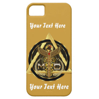 Medical Doctor Logo Universal VIEW ABOUT Design iPhone SE/5/5s Case