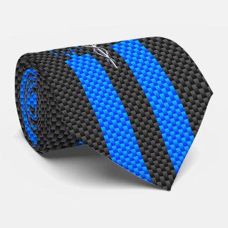 Medical Doctor MD Caduceus on Carbon Fiber Print Tie