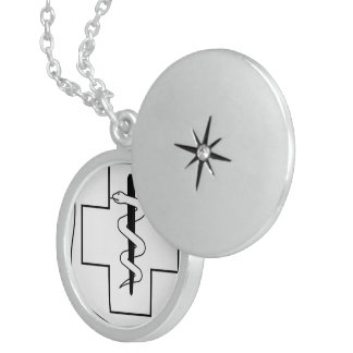 medical doctor nurse medic office Destiny'S Gifts Sterling Silver Necklace