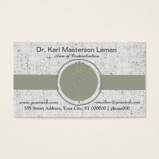 Medical Doctor Office & Appointment Business Card