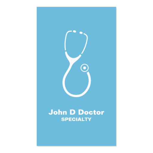 Medical doctor or healthcare business cards