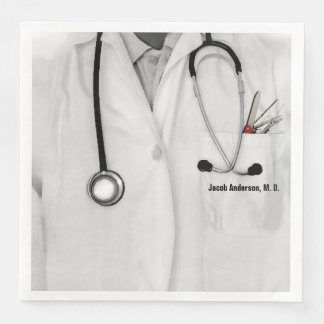 Medical Doctor Paper Dinner Napkin