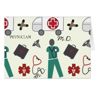 Medical Doctor Stationery Note Card
