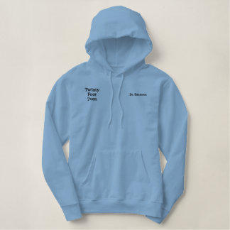 Medical Doctor - Twinty Foor 7ven Embroidered Hoodie