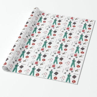 Medical Doctor Gift Wrapping Paper