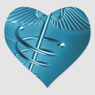 Medical & Emergency  Doctors  Internal Medicine Heart Sticker