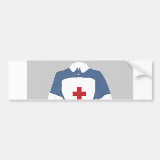 Medical & Emergency Nursing Services Car Bumper Sticker