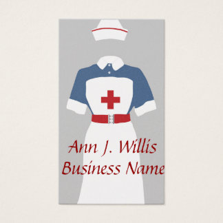 Medical & Emergency Nursing Services Business Card