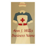 Medical & Emergency Nursing Services Double-Sided Standard Business Cards (Pack Of 100)