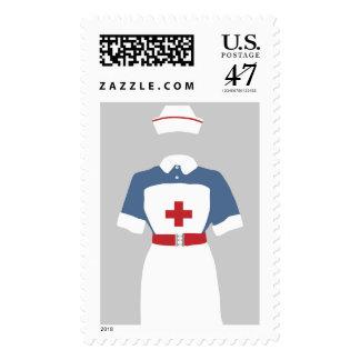 Medical & Emergency Nursing Services Postage Stamp