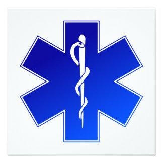 Medical EMS Symbol Card