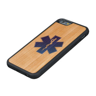 Medical EMS Symbol Carved® Cherry iPhone 6 Bumper Case