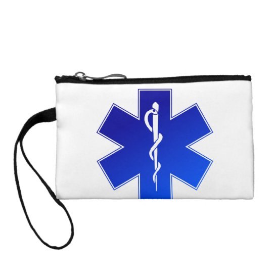 Medical EMS Symbol Change Purse