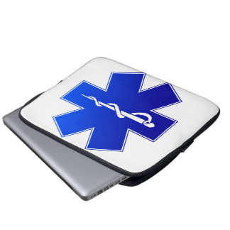 Medical EMS Symbol Computer Sleeve