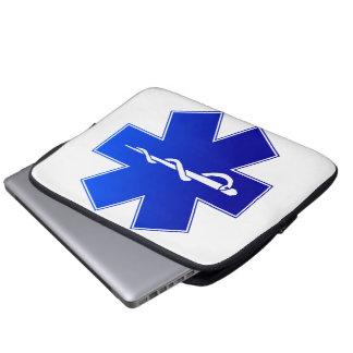 Medical EMS Symbol Laptop Sleeve