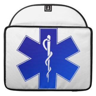 Medical EMS Symbol MacBook Pro Sleeve