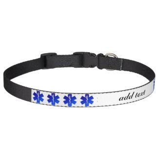 Medical EMS Symbol Pet Collar