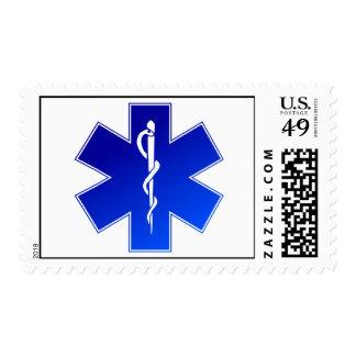 Medical EMS Symbol Postage