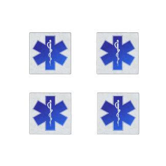 Medical EMS Symbol Stone Magnet