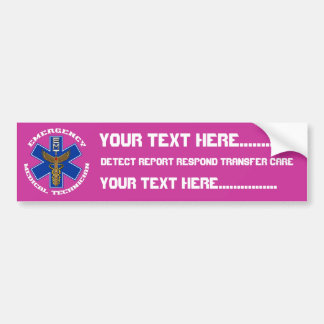 Medical EMT Universal View Notes Important Car Bumper Sticker