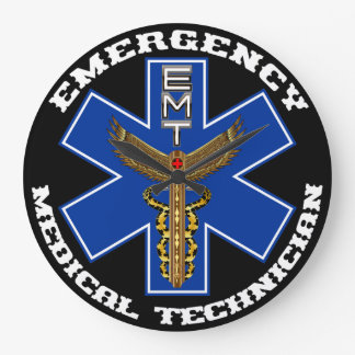 Medical EMT Universal View Notes Important Large Clock