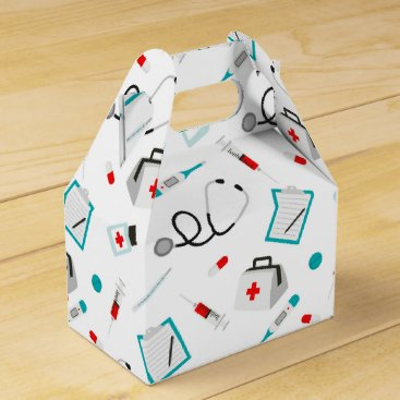 doodlesgifts medical equipment pattern nurse Doctor party box