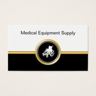 Medical Equipment Supply Business Cards