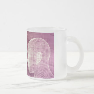 Medical Ethics as an Abstract Background Concept Frosted Glass Coffee Mug