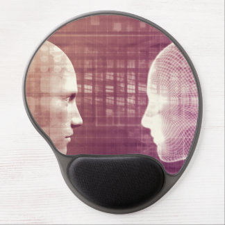 Medical Ethics as an Abstract Background Concept Gel Mouse Pad