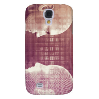 Medical Ethics as an Abstract Background Concept Samsung Galaxy S4 Cover