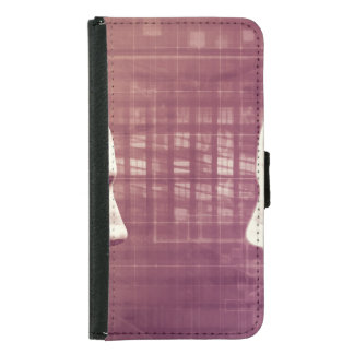 Medical Ethics as an Abstract Background Concept Samsung Galaxy S5 Wallet Case