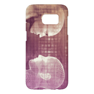 Medical Ethics as an Abstract Background Concept Samsung Galaxy S7 Case