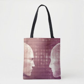 Medical Ethics as an Abstract Background Concept Tote Bag
