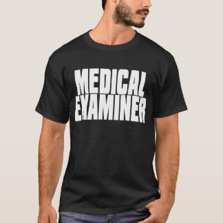 Medical Examiner Black T-Shirt