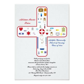 Medical Field Graduation Invitation