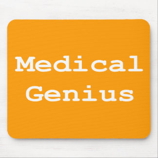 Medical Genius Gifts Mouse Pad