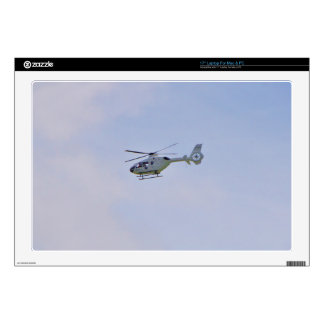 Medical Helicopter Laptop Decal