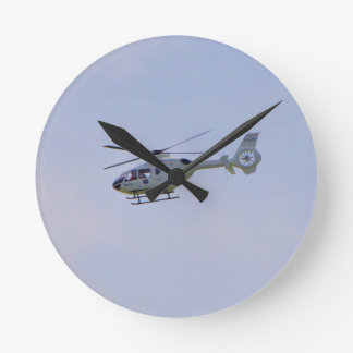 Medical Helicopter Round Clock