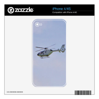 Medical Helicopter Skins For The iPhone 4S