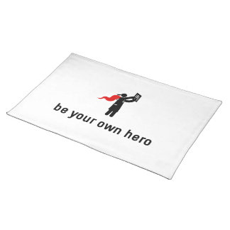 Medical Hero Cloth Placemat