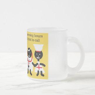 Medical Humor 10 Oz Frosted Glass Coffee Mug