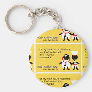 Medical Humor Basic Round Button Keychain