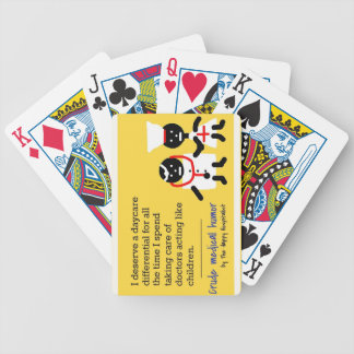 Medical Humor Bicycle Card Deck