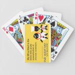 Medical Humor Bicycle Poker Cards