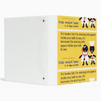 Medical Humor Binder