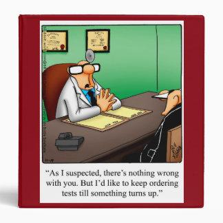 Medical Humor Binder