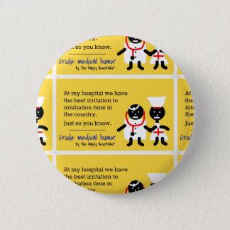 Medical Humor Button
